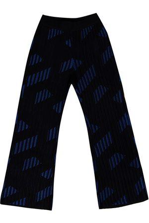 VERSACE Bukser - Flared trousers
