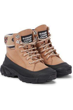 Burberry Gutt Støvler - Suede ankle boots