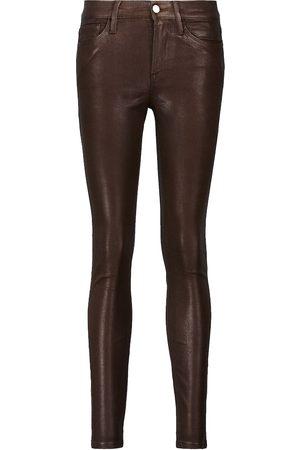 Frame Dame Jeans - Le Skinny De Jeanne mid-rise jeans