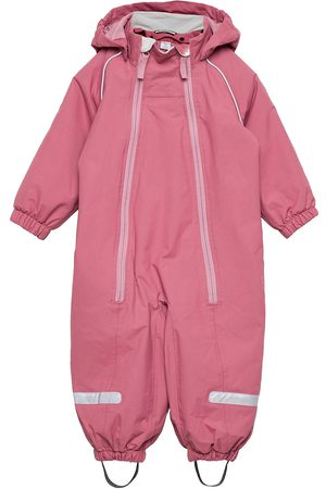 Polarn O. Pyret Overall Shell Lined Baby Outerwear Shell Clothing Shell Coveralls