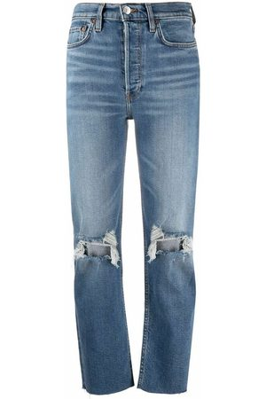 RE/DONE Dame Skinny - Jeans