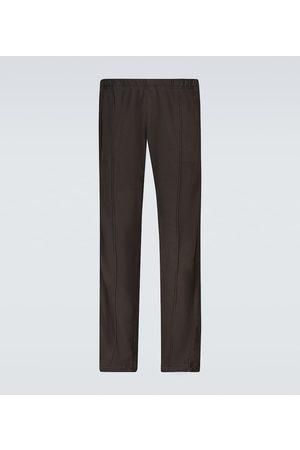 Les Tien Paneled cotton sweatpants