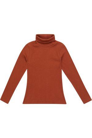 BONPOINT Jente Pologensere - Tahiti cotton turtleneck sweater