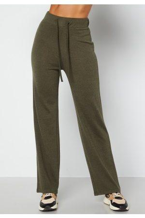 Happy Holly Dame Loungewear - Faith cosy pants Khaki green 32/34