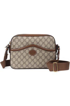 Gucci Herre Skuldervesker - Messenger bag with Interlocking G