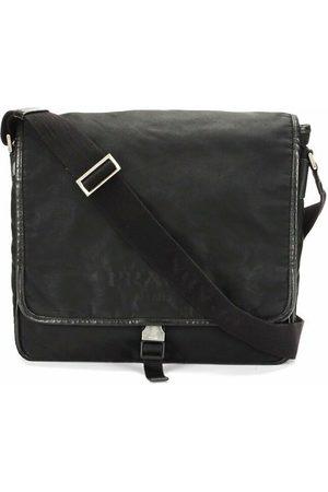 Prada Brukt Tessuto Crossbody Bag