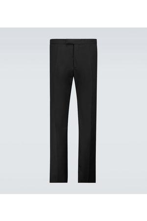 RAF SIMONS Slim-fit wool pants