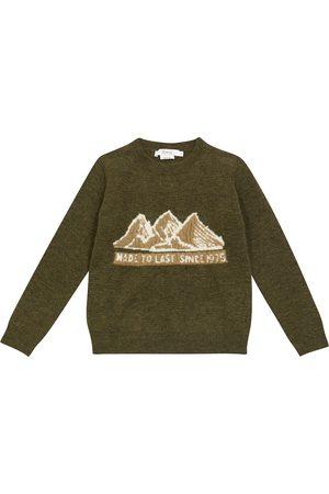 BONPOINT Gutt Strikkegensere - Thibault intarsia knit sweater