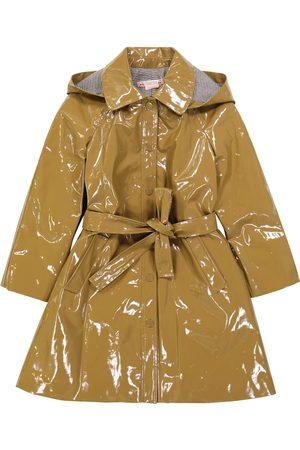 BONPOINT Teyla patent trench coat
