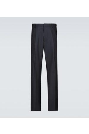 DRIES VAN NOTEN Wide-fit wool pants