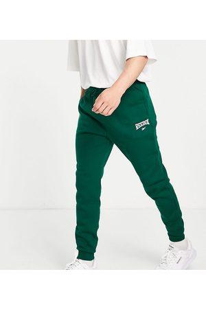 Reebok Herre Joggebukser - Vintage logo joggers in green - exclusive to ASOS
