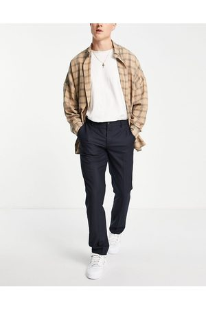 French Connection Slim fit trousers-Navy