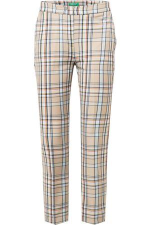 Benetton Dame Bukser - Plissert bukse