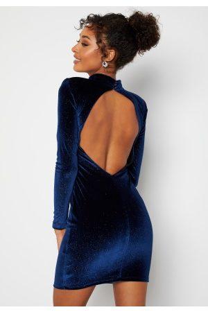 BUBBLEROOM Nicoline Sparkling Dress Blue XL