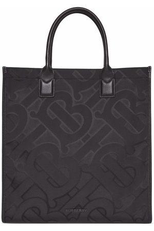 Burberry Herre Tote bags - Jacquard-woven tote bag