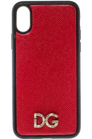 Dolce & Gabbana Dame Vesker - Lær Dauphine iPhone X -veske