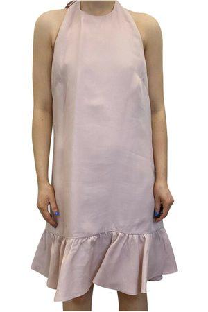 VALENTINO Brukte Bow halterneck kjole