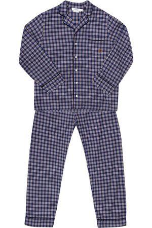 BONPOINT Checked pyjama set