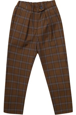 BONPOINT Checked trousers