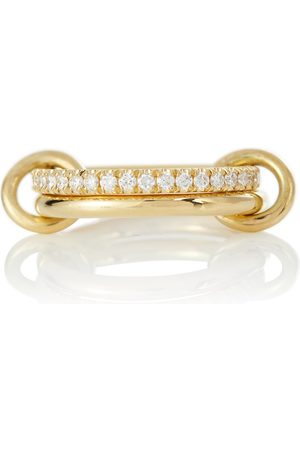SPINELLI KILCOLLIN Ceres Deux 18kt yellow gold ring with diamonds