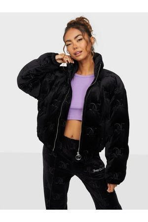 Juicy Couture Dame Dunjakker - Madeline Mono Puffa Jacket