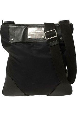 Dolce & Gabbana Herre Skuldervesker - Nylon and Leather Messenger Bag