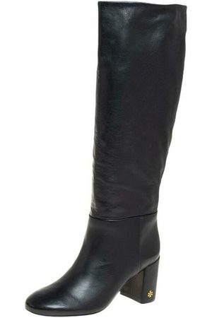 Tory Burch Pre-owned Leather Knee Length Boots