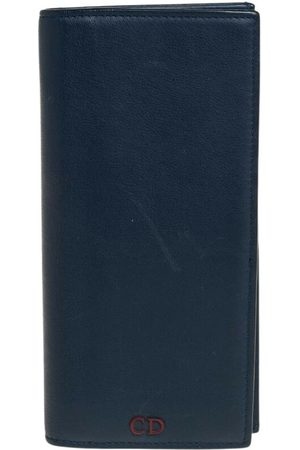 Dior Pre-owned Leather Long Wallet
