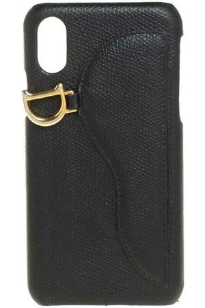 Dior Pre-owned Leather Saddle iPhone X Case