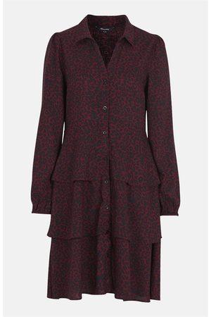 Happy Holly Dame Mønstrede kjoler - Mønstret viskosekjole Andrea