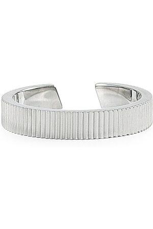 Skultuna Herre Ringer - Ribbed Ring Steel