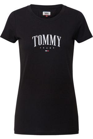 Tommy Hilfiger Dame Kortermede - Skjorte 'TJW TOMMY SCRIPT TEE