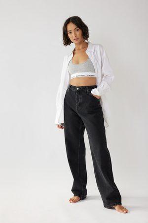 Calvin Klein for NA-KD Dame Boyfriend - Baggy Jeans