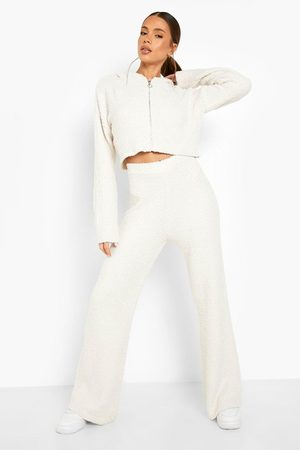 Boohoo Recycled Teddy Knit Co-ord