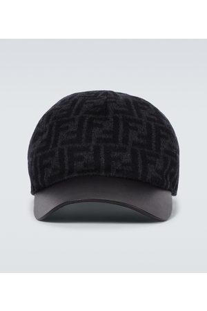 Fendi Herre Capser - FF wool baseball cap