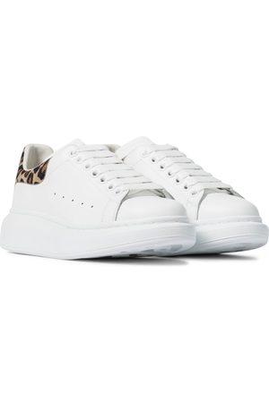Alexander McQueen Dame Platåsneakers - Leather sneakers