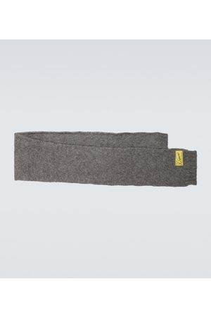 RAF SIMONS Mohair and wool-blend scarf