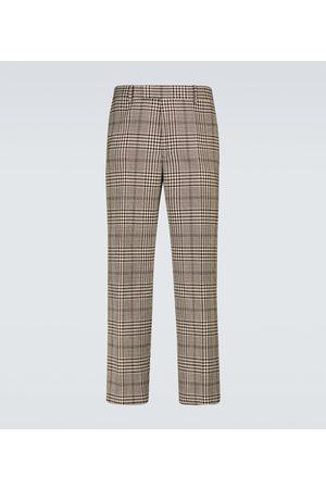 DRIES VAN NOTEN Wool and cotton blend pants
