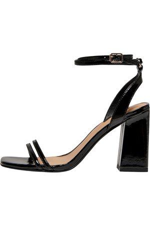 ONLY Dame Høyhælte sandaler - Stroppsandal 'ALYX