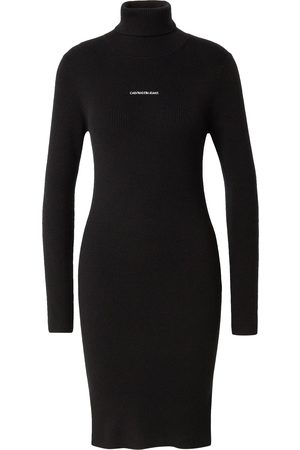 Calvin Klein Dame Strikkede kjoler - Strikkekjole