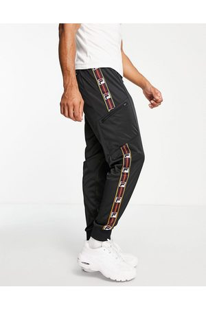 Fila Joggers with taping in black