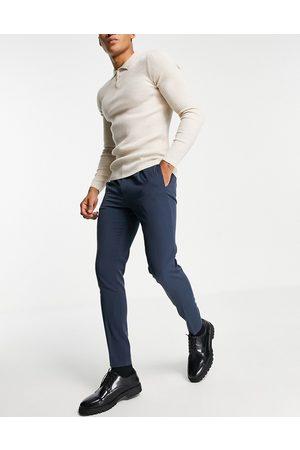 ASOS Super skinny smart trouser in navy