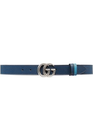Gucci Herre Belter - GG Marmont reversible thin belt