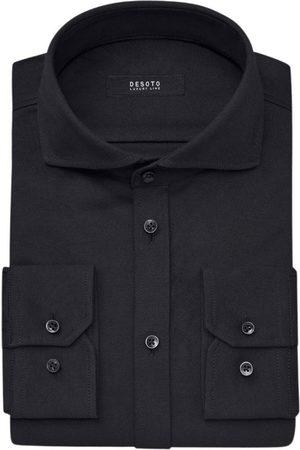 DESOTO Overhemd 10008-30 080 solid lm dress