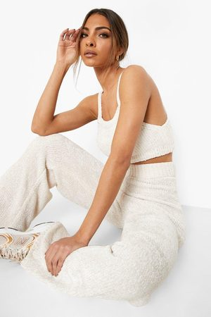 Boohoo Dame Sett - Recycled Chenille Wide Leg Co-ord