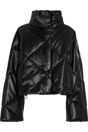Stand Studio Aina padded faux leather jacket