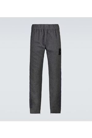 Fendi Cashmere-blend sweatpants