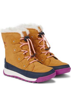 sorel Jente Støvler - Whitney™ II Joan lace-up suede boots