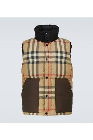 Burberry Herre Vester - Kenwick checked down vest