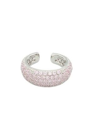 TOM WOOD Ear Cuff Thick Pink Smykker